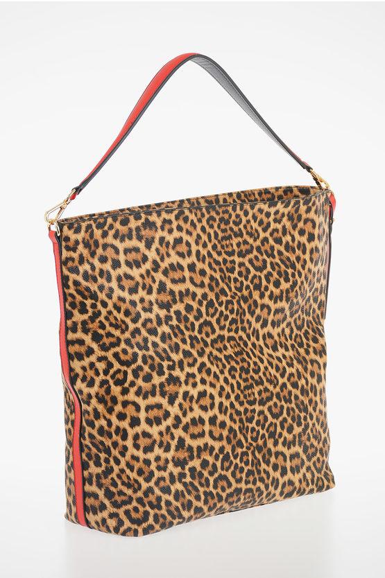 Leopard Printed HOBO GRETA Bag