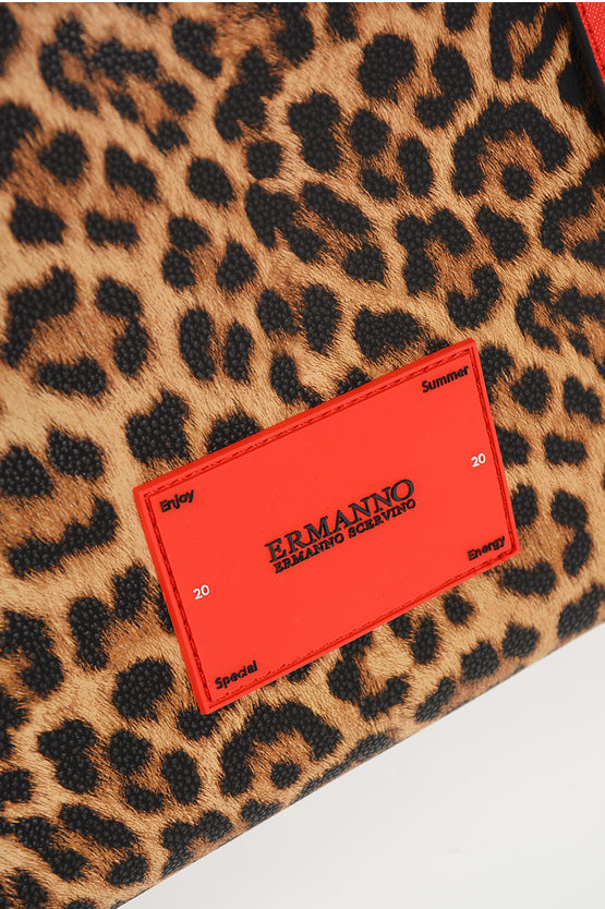 Leopard Printed MEDIUM SHOPPER GRETA Bag