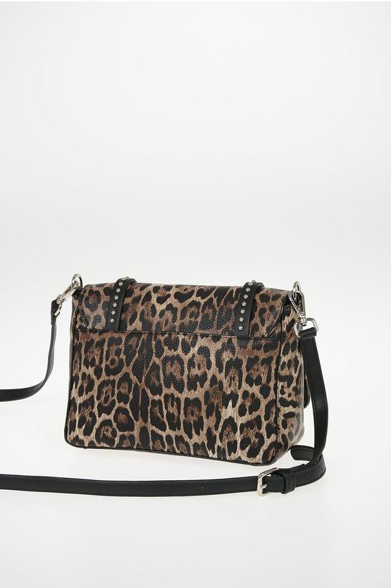 Leopard Printed SMALL FLAP GRETA Bag