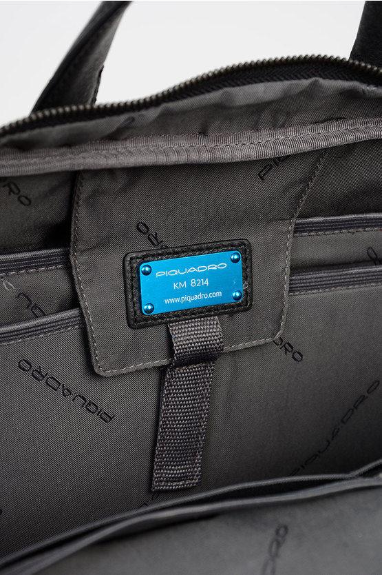 LINE Cartella Porta iPad®10.5/9.7 In Pelle Nero