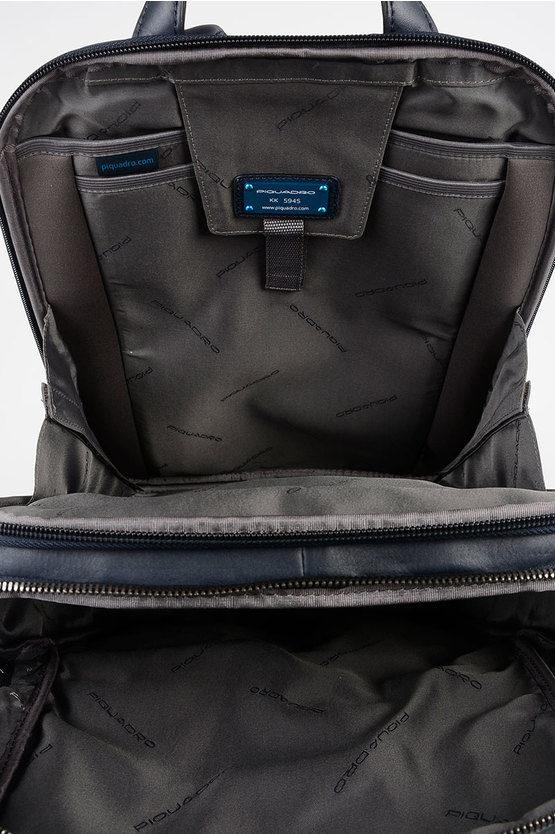 LINE Leather Back Pack Blue
