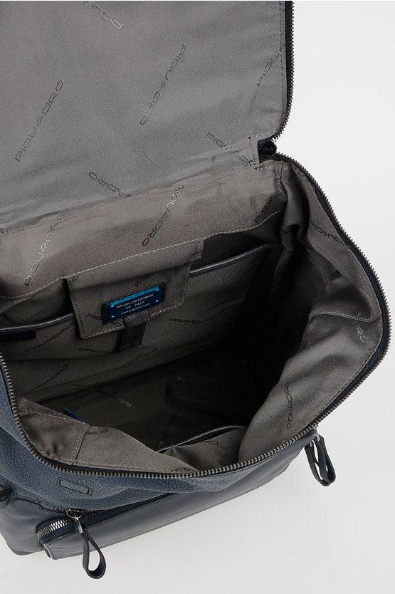 LINE Leather Backpack 10.5/iPad 9.7 Blue