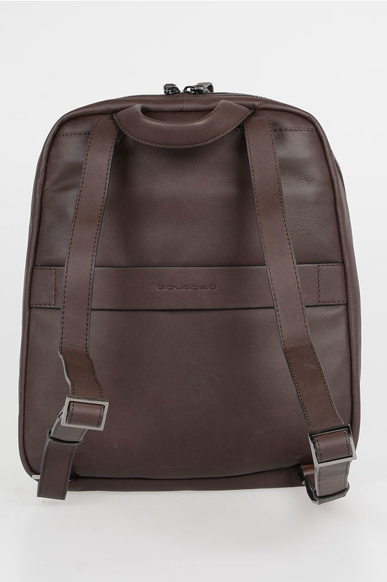 LINE Leather Backpack 10.5/iPad 9.7 Brown