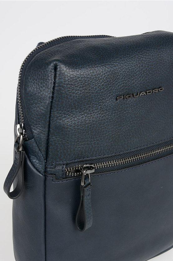 LINE Strap Crossbody Bag Blue