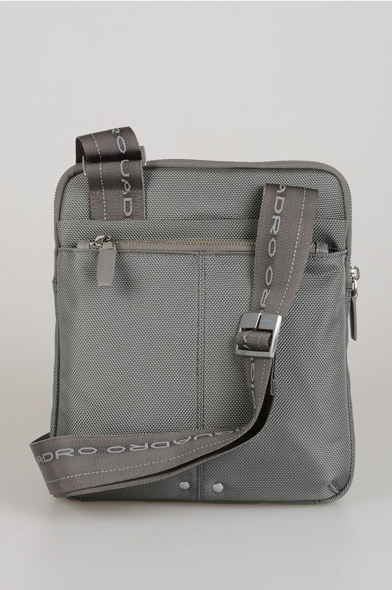 LINK Fabric Leather Bag Grey