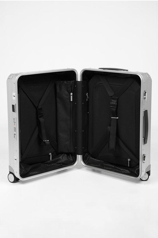 LITE-BOX ALU Cabin Trolley 55cm 4W Aluminium