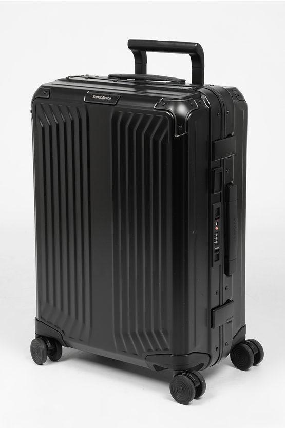 LITE-BOX ALU Cabin Trolley 55cm 4W Black