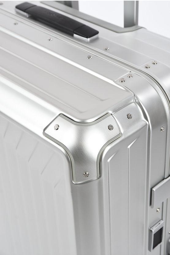 LITE-BOX ALU Large Trolley 76cm 4W Aluminium