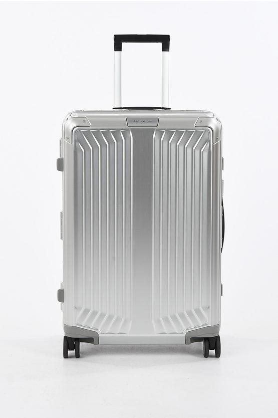 LITE-BOX ALU Medium Trolley 69cm 4W Aluminium