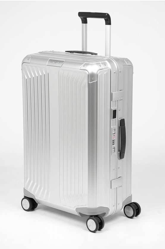 LITE-BOX ALU Trolley Medio 69cm 4R Aluminium