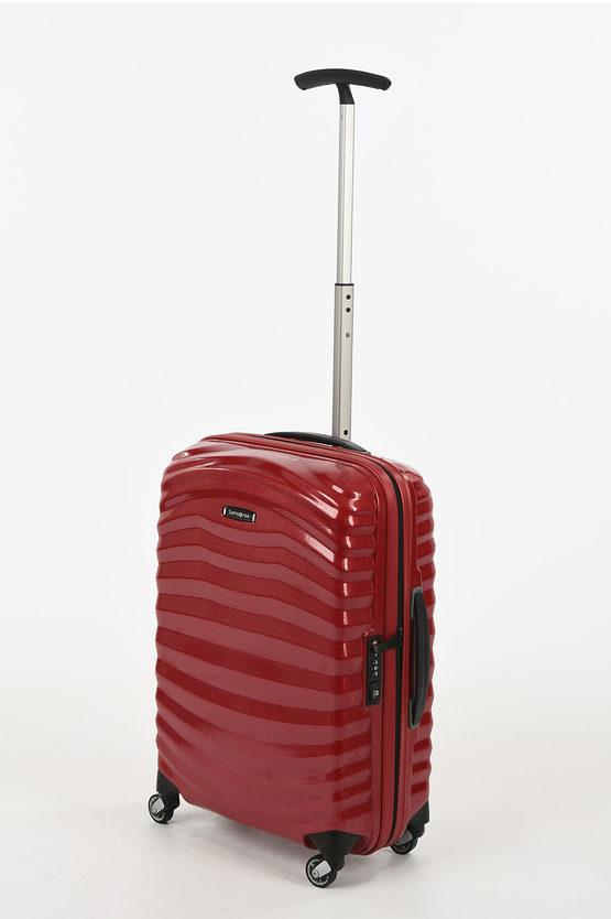 LITE-SHOCK Cabin Trolley 55cm 4W Chili Red