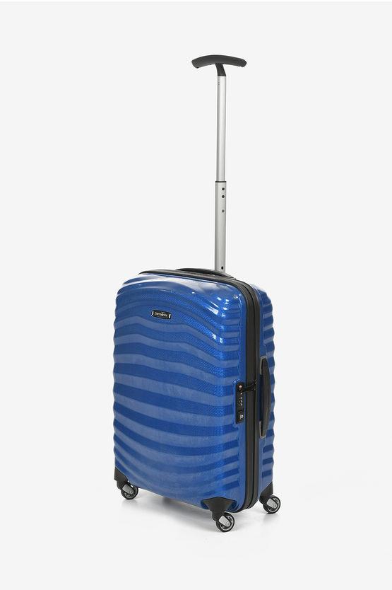 LITE SHOCK Cabin Trolley 55cm 4W Pacific Blue