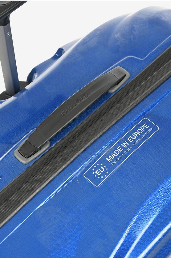 LITE SHOCK Large Trolley 81cm 4W Pacific Blue