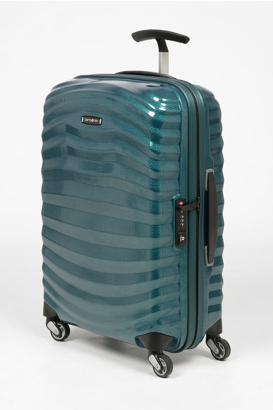 LITE-SHOCK Trolley Cabina 55cm 4R Blu