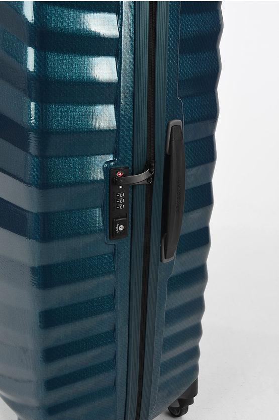 LITE-SHOCK Trolley Grande 81cm 4R Blu