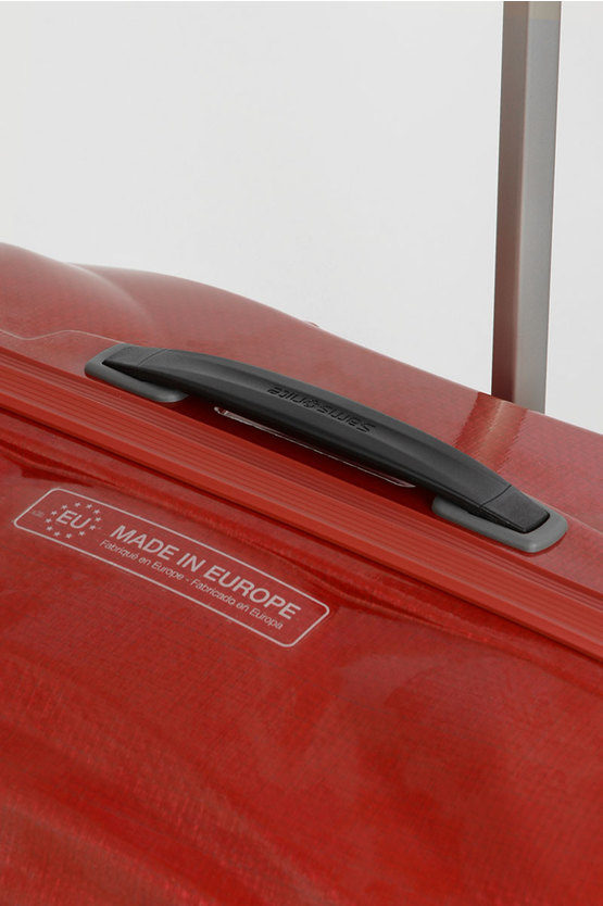 LITE-SHOCK Trolley Grande 81cm 4R Rosso