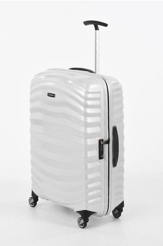 LITE-SHOCK Trolley Medio 69cm 4R Bianco