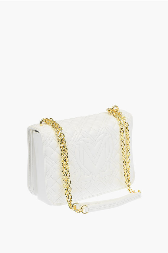 LOVE Borsa NEW SHINY QUILTED in Ecopelle