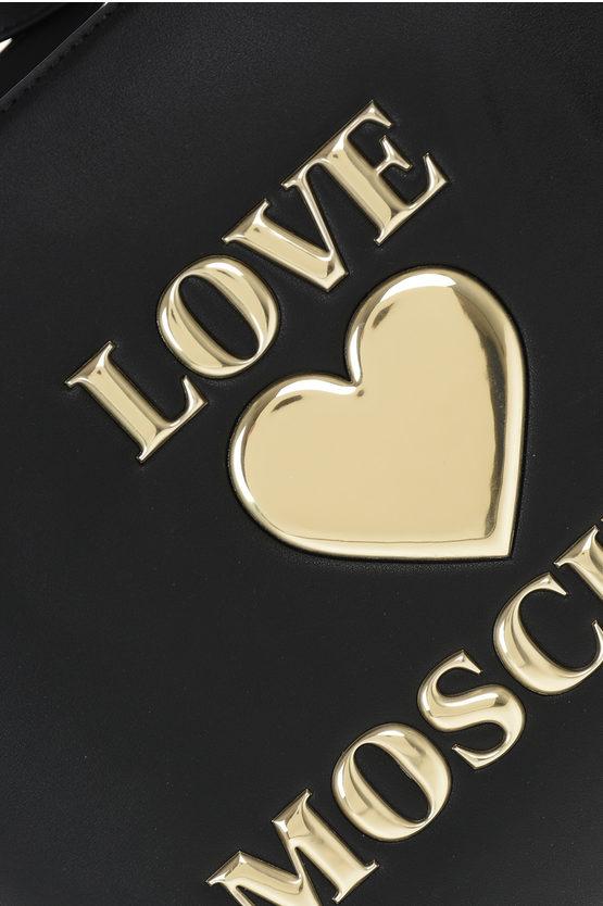 LOVE Borsa Tote con Ricamo