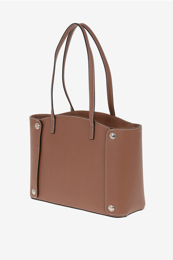 LOVE Borsa Tote in Ecopelle Ricamata