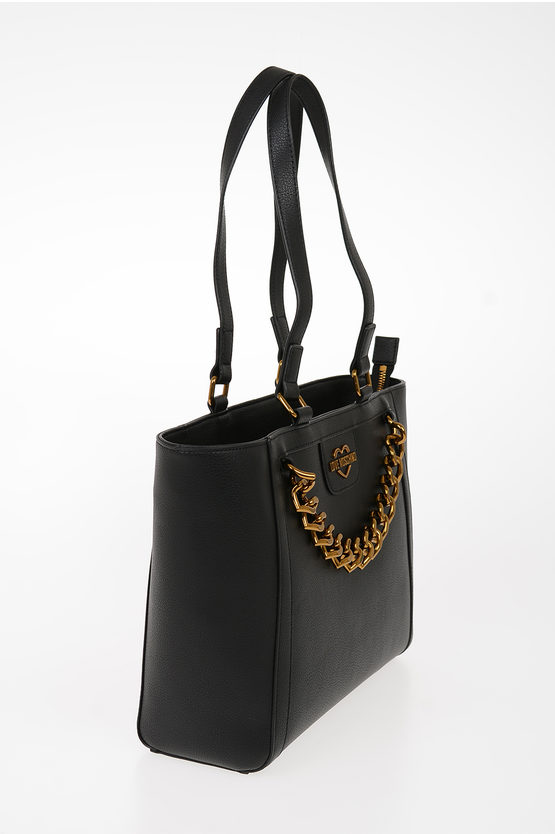 LOVE Borsa Tote NEW CHAIN HEART in Ecopelle