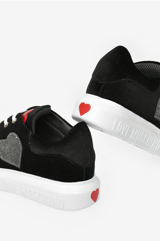LOVE Chenille RUNNING Sneakers