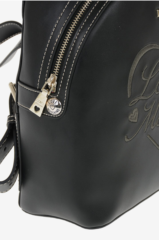 LOVE Embroidered Backpack