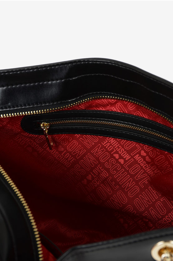 LOVE Embroidered Quilted Bag