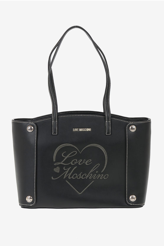 LOVE Embroidered Tote Bag