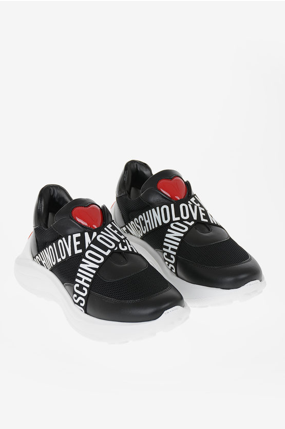 LOVE Fabric Slip on
