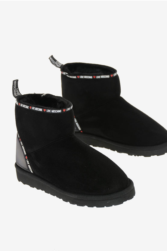LOVE Fabvric Suede Ankle Boots