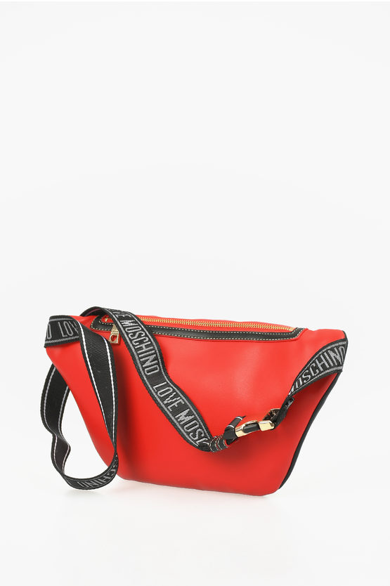 LOVE Faux Leatheer Glittered OUT OF BLUE Fanny pack