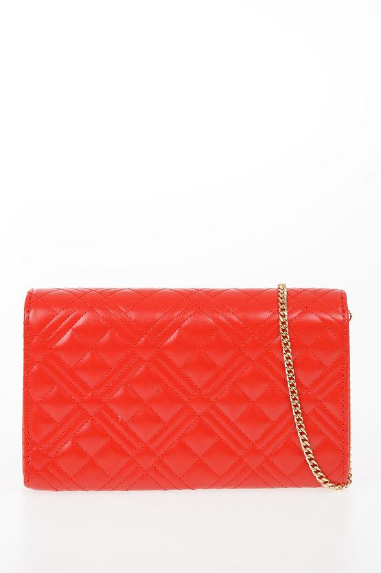 LOVE Faux Leather EVENING Shoulder Bag