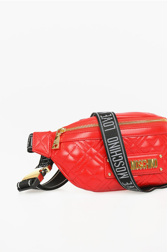 LOVE Faux Leather NEW SHINY Fanny pack