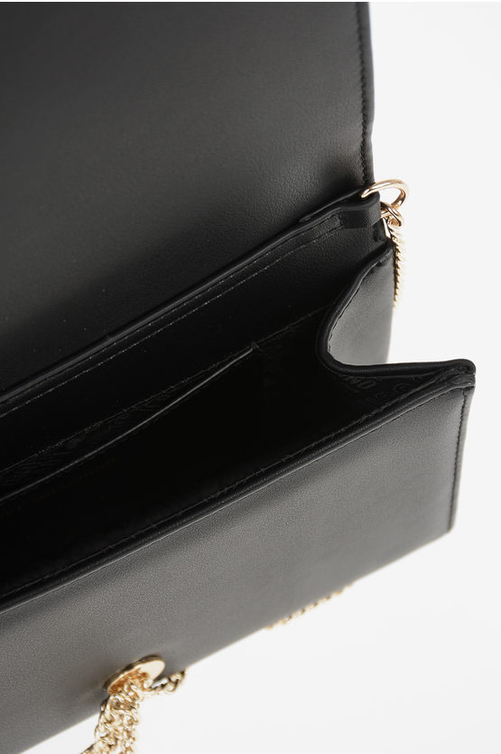 LOVE Faux Leather Pochette