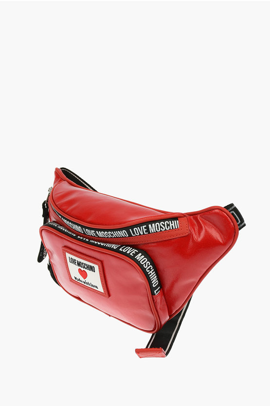 LOVE Faux Leather SPORTY LABEL Fanny pack