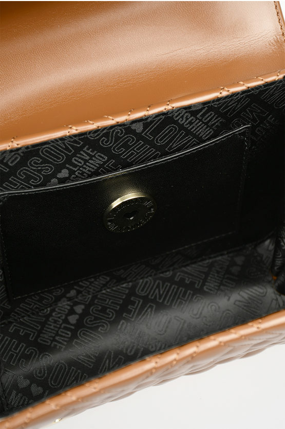 LOVE Faux Quilted Leather EVENING Pochette