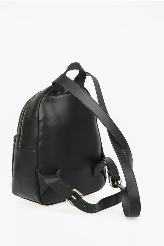 LOVE Faux Quilted Leather JEWEL Backpack