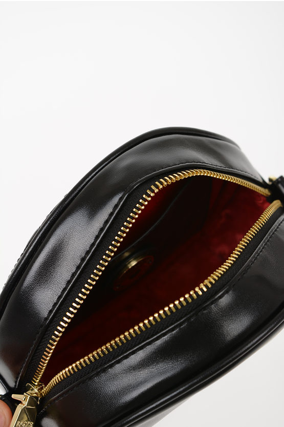LOVE Faux Quilted Leather NEW SHINY Bag