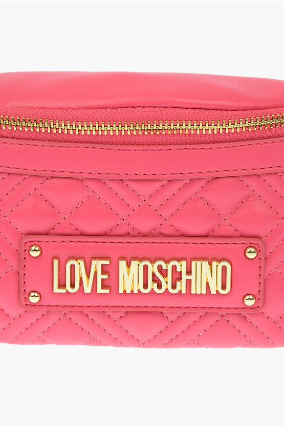 LOVE Marsupio NEW SHINY QUILTED in Ecopelle