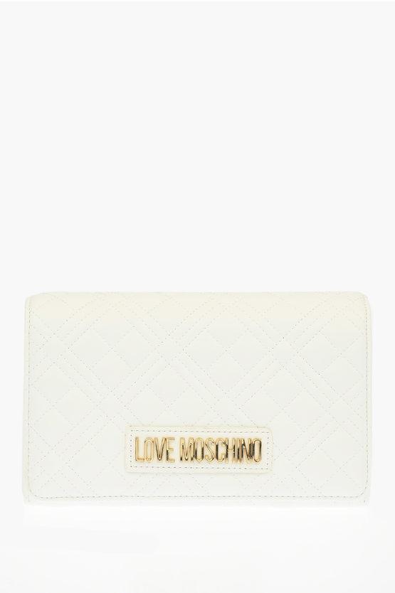 LOVE Pochette EVENING BAG in Ecopelle