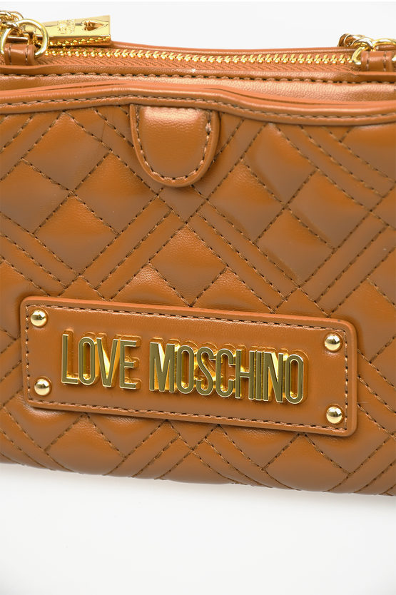 LOVE Quilted NEW SHINY Pochette