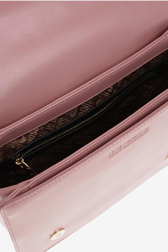 LOVE Quilted Shoulder Bag