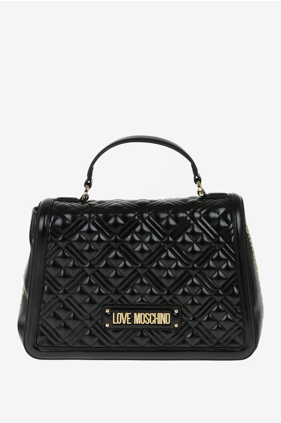 LOVE Quilted Tote Bag
