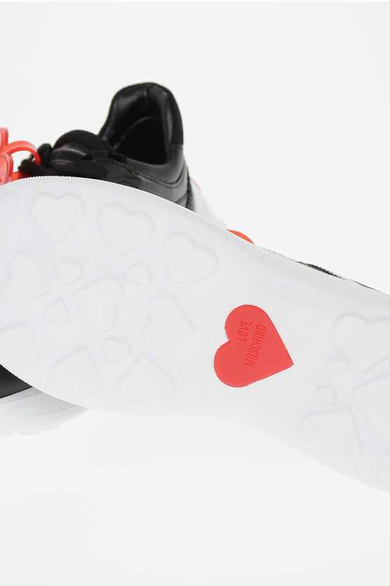 LOVE Sneakers con Paillettes