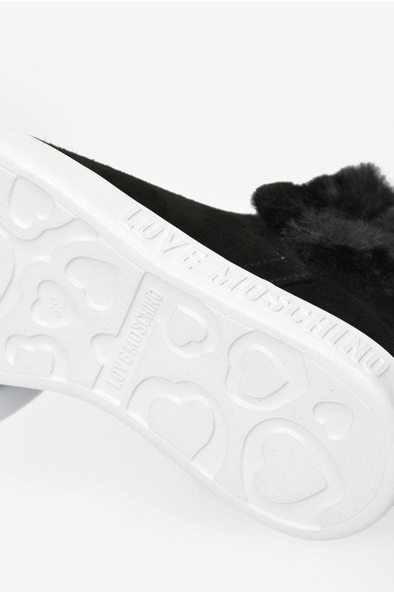 LOVE Sneakers RUNNING in Pelle Scamosciata