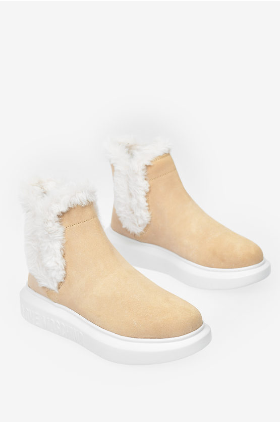LOVE Suede Leather RUNNING Sneakers