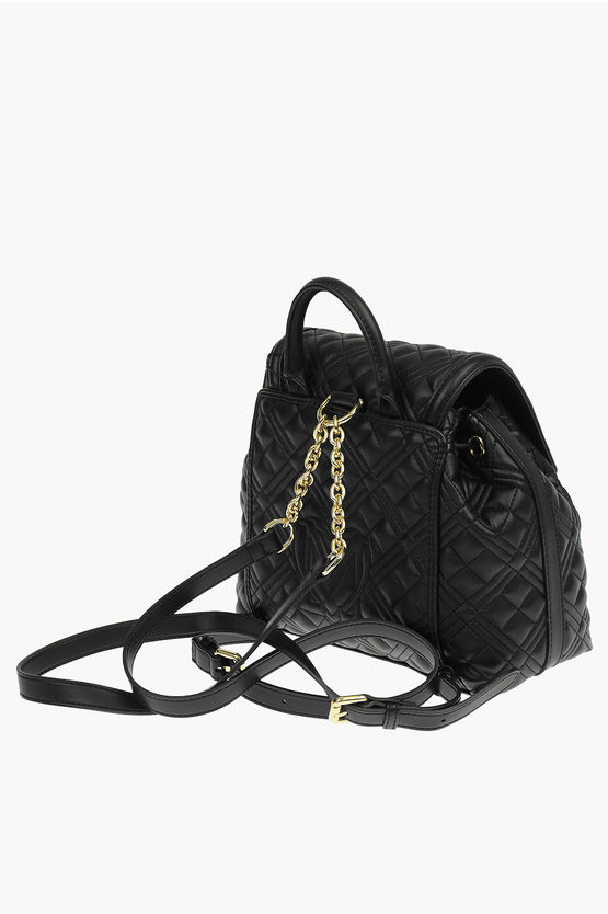 LOVE Zaino NEW SHINIY QUILTED in Ecopelle