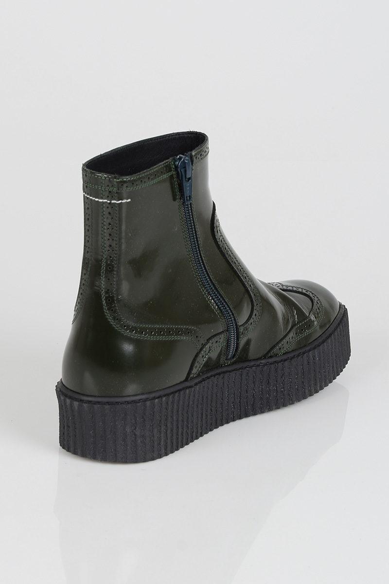Margiela Pelle Sneakers Donna Maison In Shop On Mm6 Alte Line Cuoieria TqqCwZ