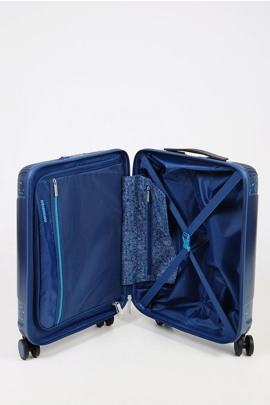 MODERN DREAM Cabin Trolley 55cm 4W Blue